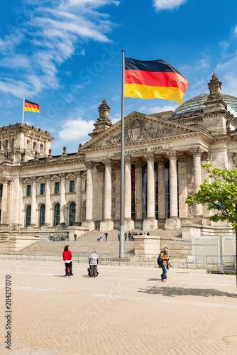 Aluminium Berlijn Reichstagsgebäude, Berlin - 8117