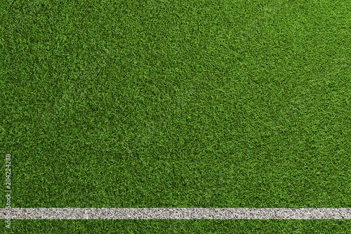Fußball Rasen Spielfeld Hintergrund - 204224288