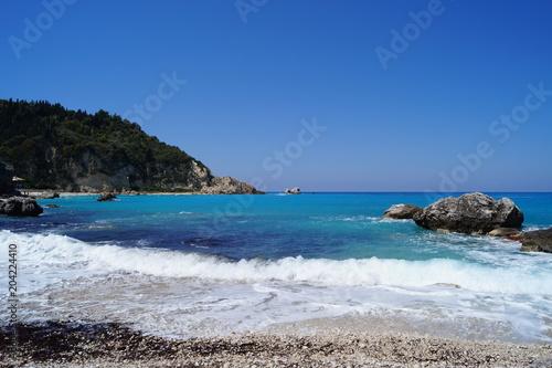 Ionian Sea on the island of Lefkada