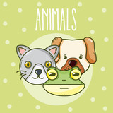 Wild animals cartoons - 204230417