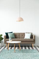 Simple living room interior