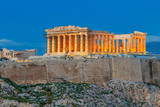 Athens. The Parthenon on the Acropolis.