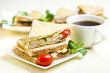 Croque Monsieur - Classic French Bistro Sandwich - 204259610