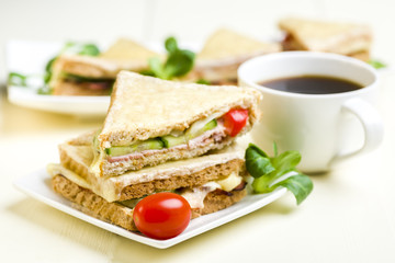 Croque Monsieur - Classic French Bistro Sandwich