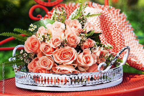 Fridge magnet Rosa Rosenstrauß