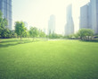 Quadro park in lujiazui financial center, Shanghai, China