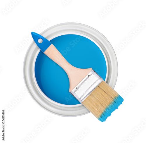 paint brush bank isolate