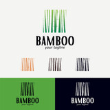 Bamboo Logo Designs Template - 204316408