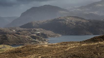 Scottish Highlands Landscape © matt