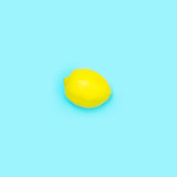 Summer citrus background, view above
