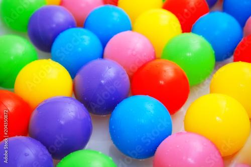 Fotobehang Amusementspark balls