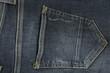 Quadro Grey jeans background closeup. Textyle texture