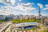 Nagoya downtown skyline in  Japan - 204366096