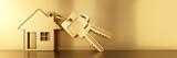 Hausschlüssel Motiv Gold - 204369459