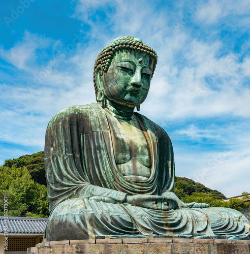 Plexiglas Boeddha Great Buddha statue, Kamakura