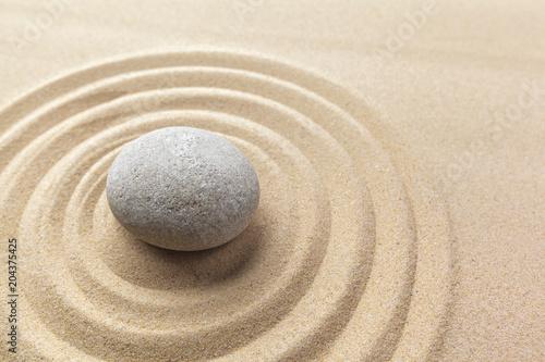 Fotobehang Zen zen garden meditation stone background