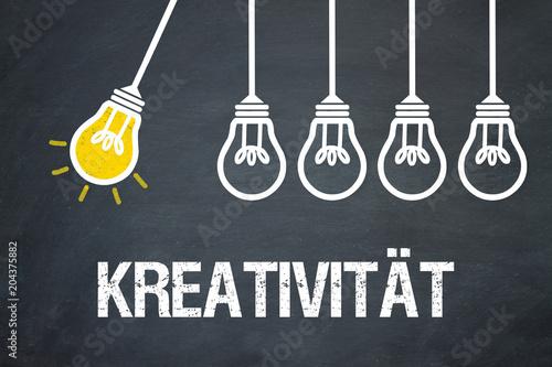 Fototapeta Kreativität / Lampen / Konzept