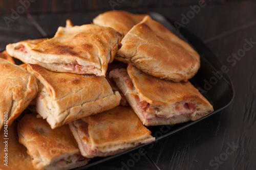 Poster traditional Italian sandwich