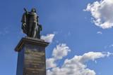 Statue of the Swedish king Gustav III in Stockholm City Sweden - 204399818
