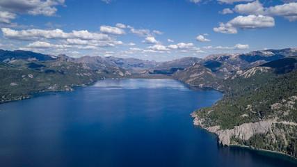 Mountains and lake © Adriana