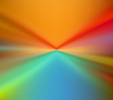 Abstract bright and colorful starburst background. - 204404458