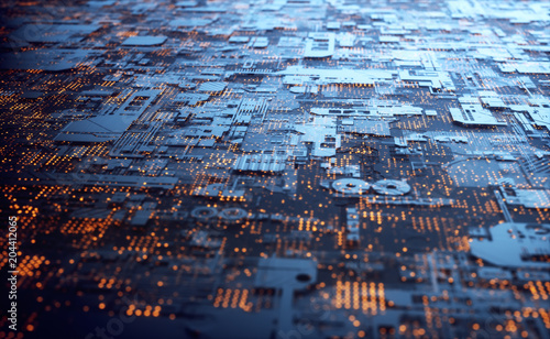 3D Structure Abstract Background. 3D illustration. Abstract 3D structure for use as background in technological theme.