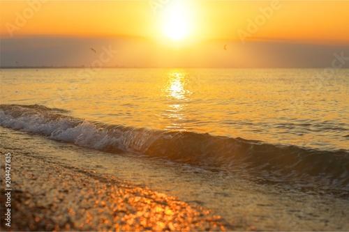 Plexiglas Strand Ocean.