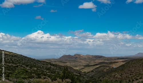 Fotobehang Blauwe jeans Landscape New Mexico
