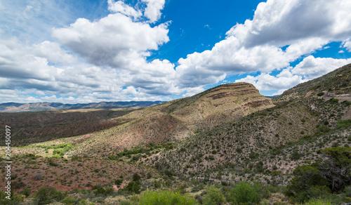 Fotobehang Blauwe hemel Landscape New Mexico