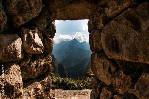 Fotobehang Chocoladebruin door mountain