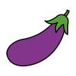 color natural eggplant vegetable organic food