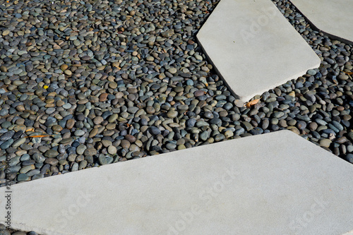 Canvas Stenen rock background texture, wall background, stone