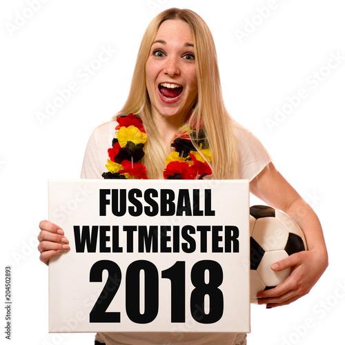 Fotobehang Voetbal Fussballweltmeister 2018