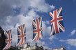 roleta: Union Jack flags in preperation for the royal wedding