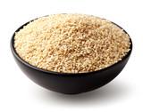 Bowl of sesame seeds - 204522096
