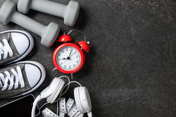 Fitness equipment background