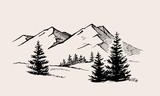 mountain landscape nature - 204545052