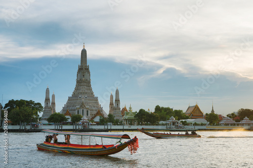 Canvas Bangkok Wat Arun Ratchawararam Ratchawaramahawihan or Wat Arun is a Buddhist temple in Bangkok Thailand