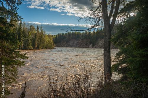Aluminium Bergrivier River Torrent - Flooding - Spring
