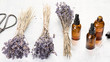 Essential lavender oil
