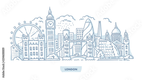 London City Cityscape
