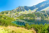 valley of five ponds in Tatra mountains, Poland