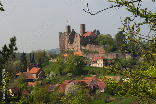 View from Castle Hanstein