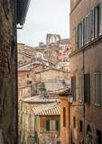 Streets of Siena, Tuscany