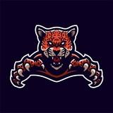 jaguar/leopard esport gaming mascot logo template