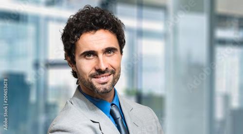 Smiling manager portrait
