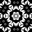 Abstract decorative pattern in a black - white colors