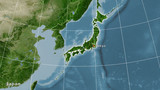 Japan, satellite B - composition - 204664229