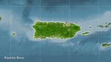 Puerto Rico, satellite B - composition