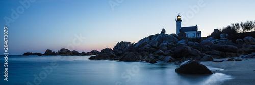 Leinwanddruck Bild Lighthouse De Pontusval - .Phare De Pontusval